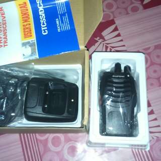Baofeng bf 888s Two-Way Radio W/ Earpiece