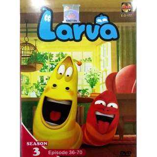 Larva Season 3 Ep.36-70 Anime DVD