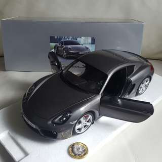 Porsche Cayman S Built-up Model Car