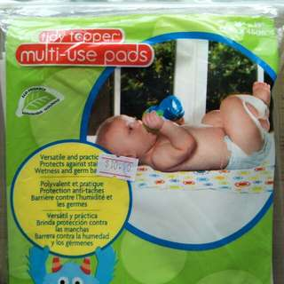 Disposable outdoor pad 55% off- toilet, diaper change, car seat cover