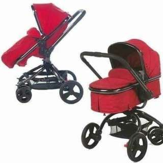 Mothercare orb red stroller