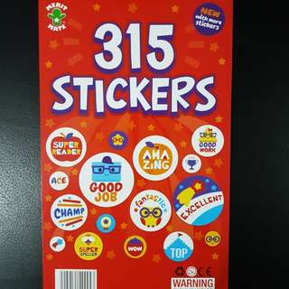 BN 315 Sticker Book