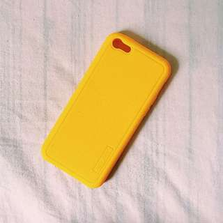 iphone 5 lemon rubbered case