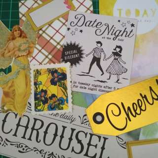 Ephemera die cuts