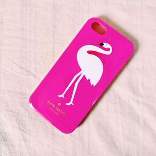 iphone 5s kate spade pink flamingo case