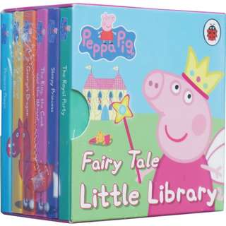 6 Peppa Pig Fairy Tale Little Library Storybooks