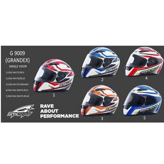 Gracshaw G 9009 (Single visor)