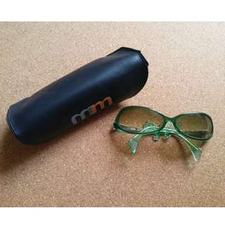 Alain Mikli M0165 90s Vintage sunglasses Feminine design by legendery eyewear designer sunglasses 太陽眼鏡