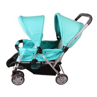 Mamalove Twin/ Double Seated Baby Stroller