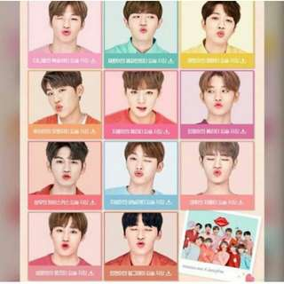 (PREORDER) WANNA ONE Innisfree LipBalm with PC