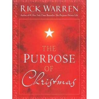 [eBook] The Purpose of Christmas - Rick Warren