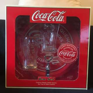 Coca Cola Bar Set