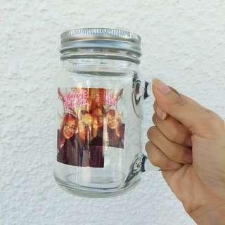 Customised mason jar