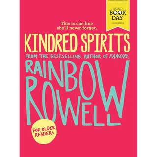 KINDRED SPIRIT RAINBOW ROWELL (EPUB, EBOOK, DIGITAL BOOK, MOBI, KINDLE, IPAD, PC)