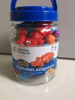 Snap-n-learn Alphabet Alligators