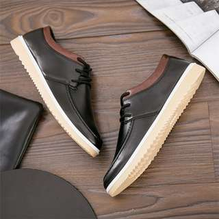 Hongkong Genuine PU leather fashion shoes A29