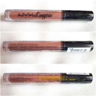 [NEW] NYX Lingerie Liquid Lipstik (Bedtime Flirt - Lipli08)
