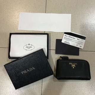 Prada Key & Coin wallet