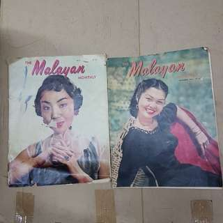 The malayan monthly 1954