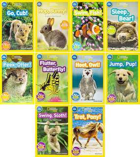 National Geographic Kids pre readers about animals
