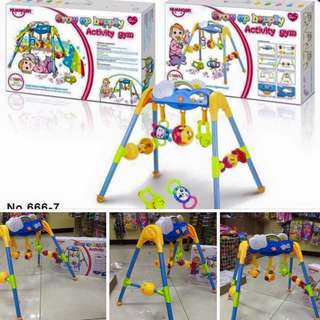 Growing up happily baby activity gym