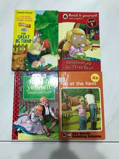 Children's Books 4 books for $8