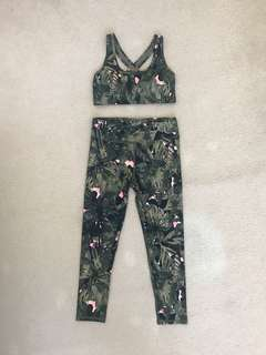 Jungle print sports set