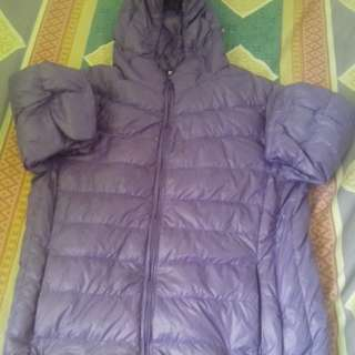 Purple bubble jacket for boys