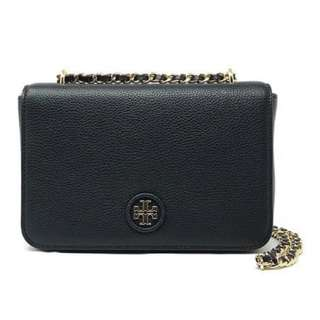 Tory Burch Whipstitch Logo Adjustable Crossbody Bag