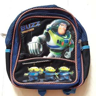 Pre-owned Toy Story Buzz Lightyear Small Backpack
