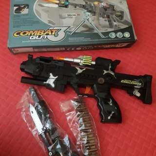 Toy Gun for kids with lights and sounds