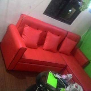 RUSH! RUSH! L-Shaped Sofa