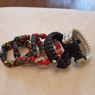 Customized Paracods Bracelets