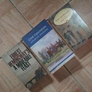 3 Classic Books 📚 (bundle)