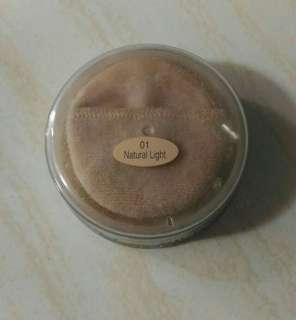 Silky girl shine free loose powder