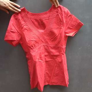 Red Top by Esprit (FREE ONGKIR)