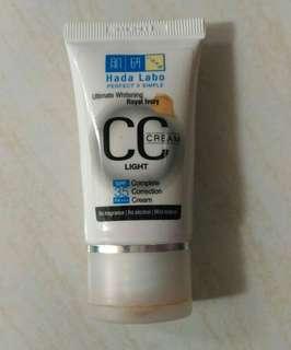 Hada labo ultimate whitening cc cream