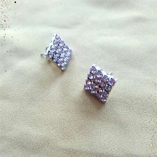 Square Studded Earings