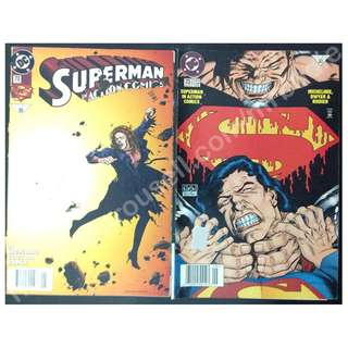 Superman In Action Comics #710 & #713