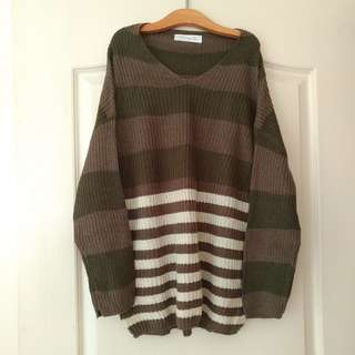 Tokyo Fashion 落肩針織毛衣