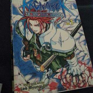 Ragnarok in to the abyss vol 1