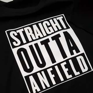 Limited Edition print Straight Outta Anfield tshirt