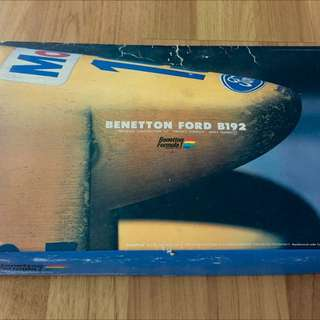 1993年出廠1/24經典benetton Ford F1模型
