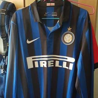 Inter Milan 2011/12 Home Jersey (M Size)