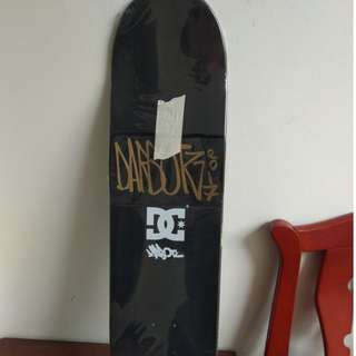 SISA 1 PCS LAGII.. Very Limited!! Skateboard Deck DC x Darbotz original