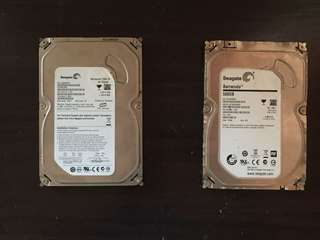 For Sale Defective Seagate Hard Drives