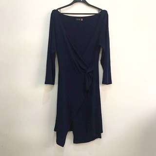 Blue Body Con Dress