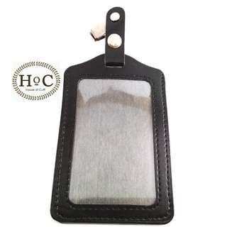 Houseofcuff ID Card  ID CARD HOLDER BLACK