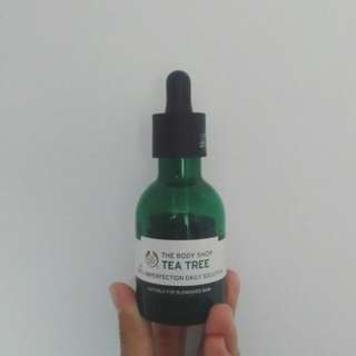 Tea tree oil botol 50ml the body shop