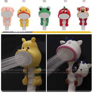 Children bathing cartoon shower nozzle